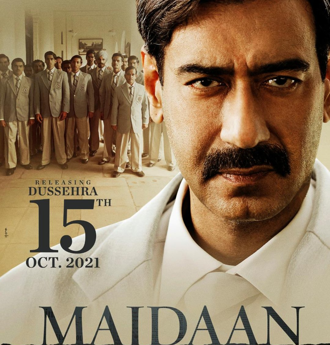 Ajay Devgn's #Maidaan to hit the theatres on Dussehra next year; shooting for the film will begin in January 2021.  @ajaydevgn #AjayDevgn #Maidaan2021 #Bollywood #TNI
