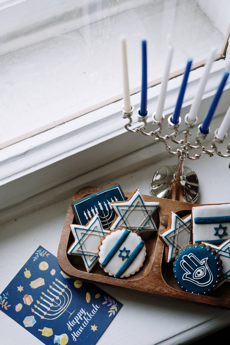 Even though this holiday season might look a little different this year, we have some ideas for Hanukkah at home that will still make the festivities feel special ✨: