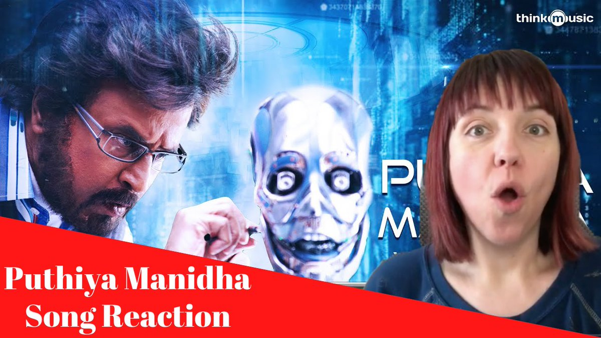 Check out my reaction to the song #PuthiyaManidha which features Superstar #Rajinikanth and the beautiful #AishwaryaRai! #HappyBirthdayRajinikanth #Bollywood #Tollywood #Kollywood #Mollywood #India
