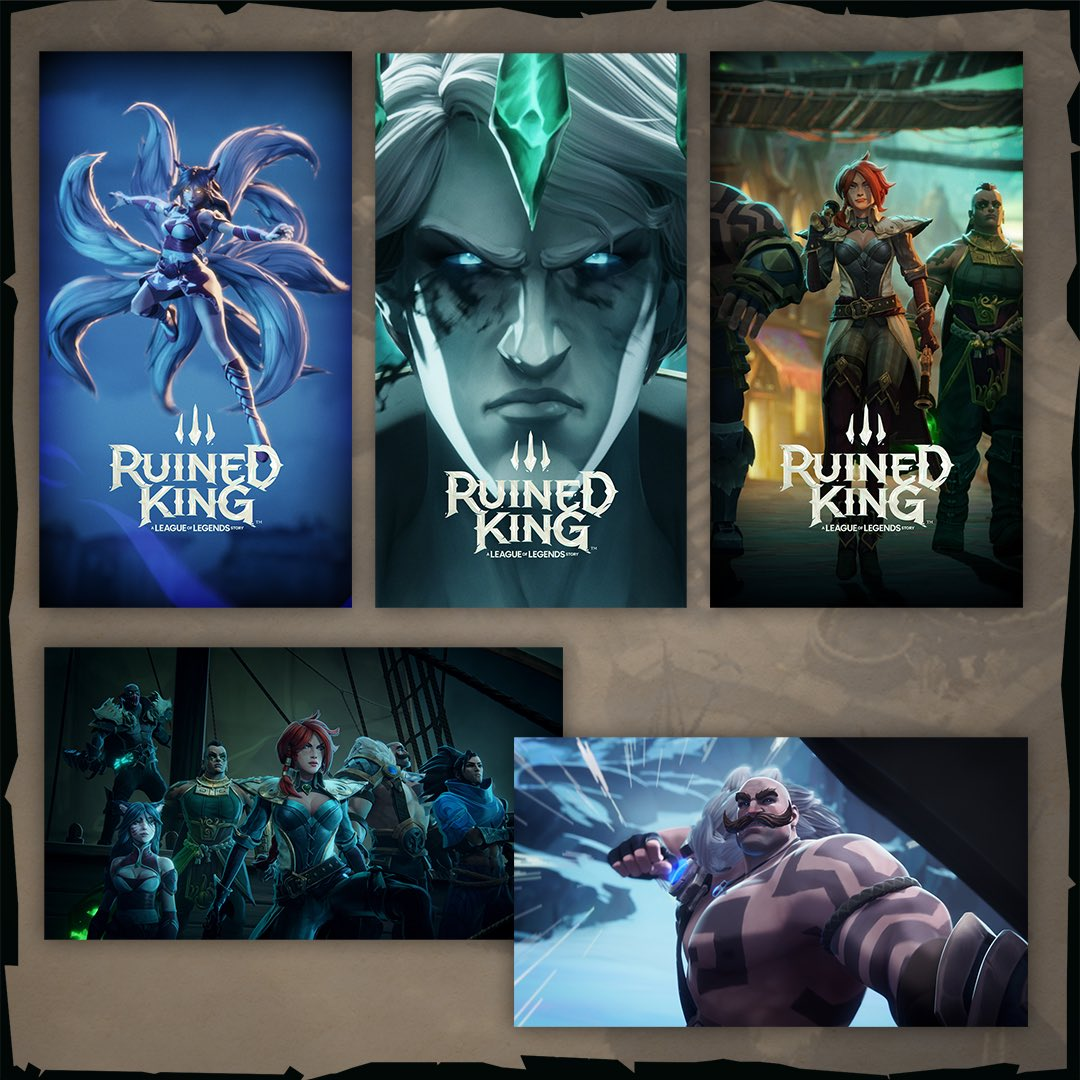 ¿No podéis esperar a que llegue Ruined King? Nosotros tampoco. Mostrad vuestro entusiasmo con el Fan Kit oficial de Ruined King 👉 https://t.co/OGZhkBNZK8 https://t.co/4lBdr0sd7i