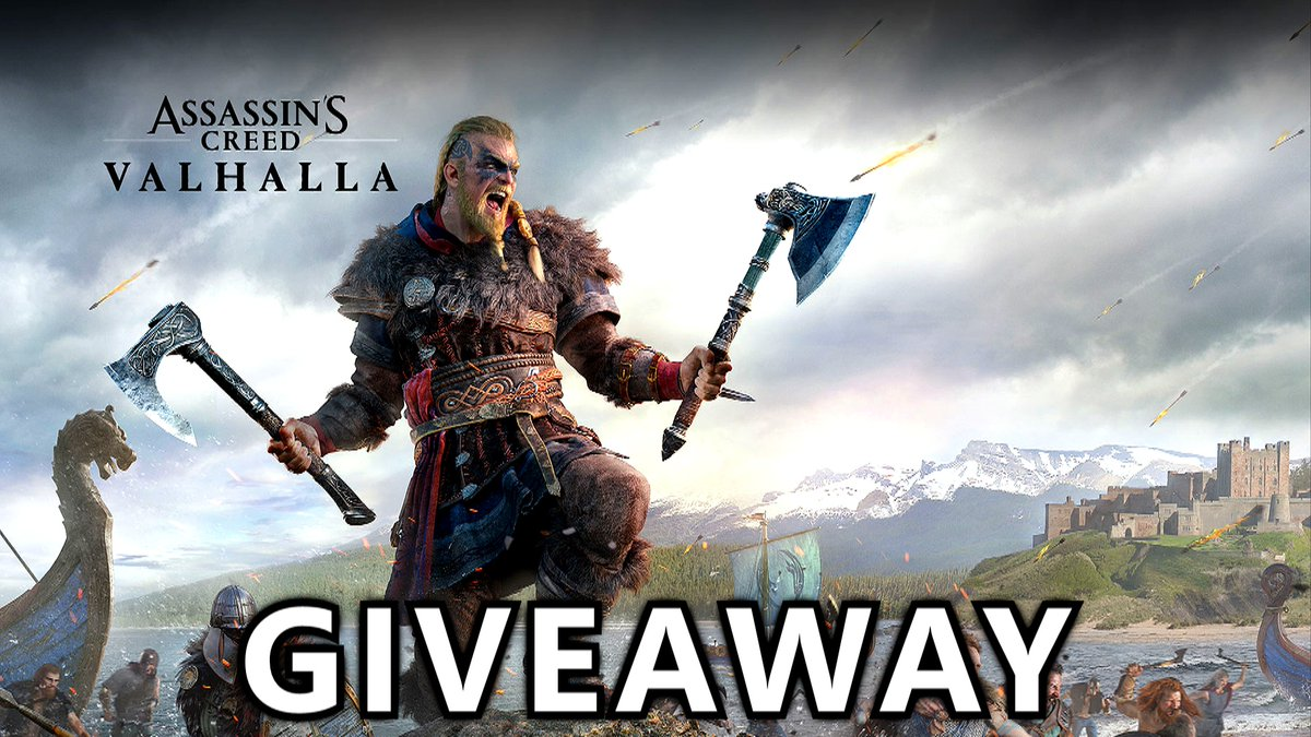 I've partnered with @LGCanada for a giveaway of Assassin's Creed Valhalla for PC.  Enter here: https://t.co/faiXkREvjB   2 winners will be randomly drawn on 12/22. Good luck!  #LGUltraGear #GamingMonitor https://t.co/c1cUI1zZpu