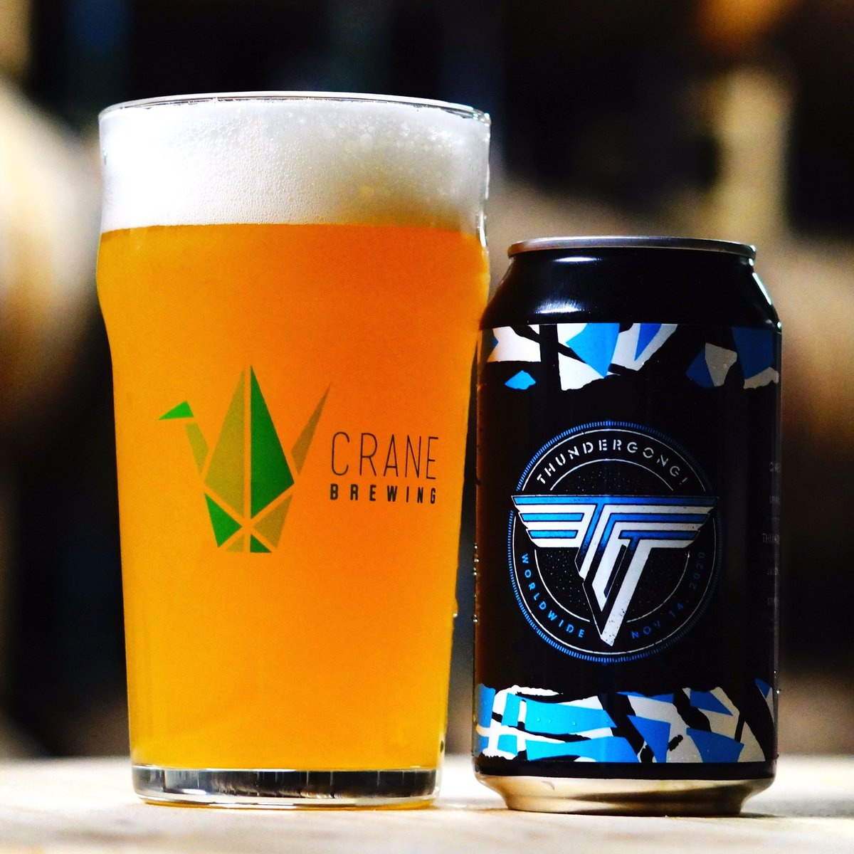 Pick up a six pack of @CraneBrewing #Thundergong! beer today for tomorrow's double header of the Chiefs game and then The Best of Thundergong! on @KCTV5 at 4pm! 🍻  Crane donates $1 for every case sold to Steps Of Faith!