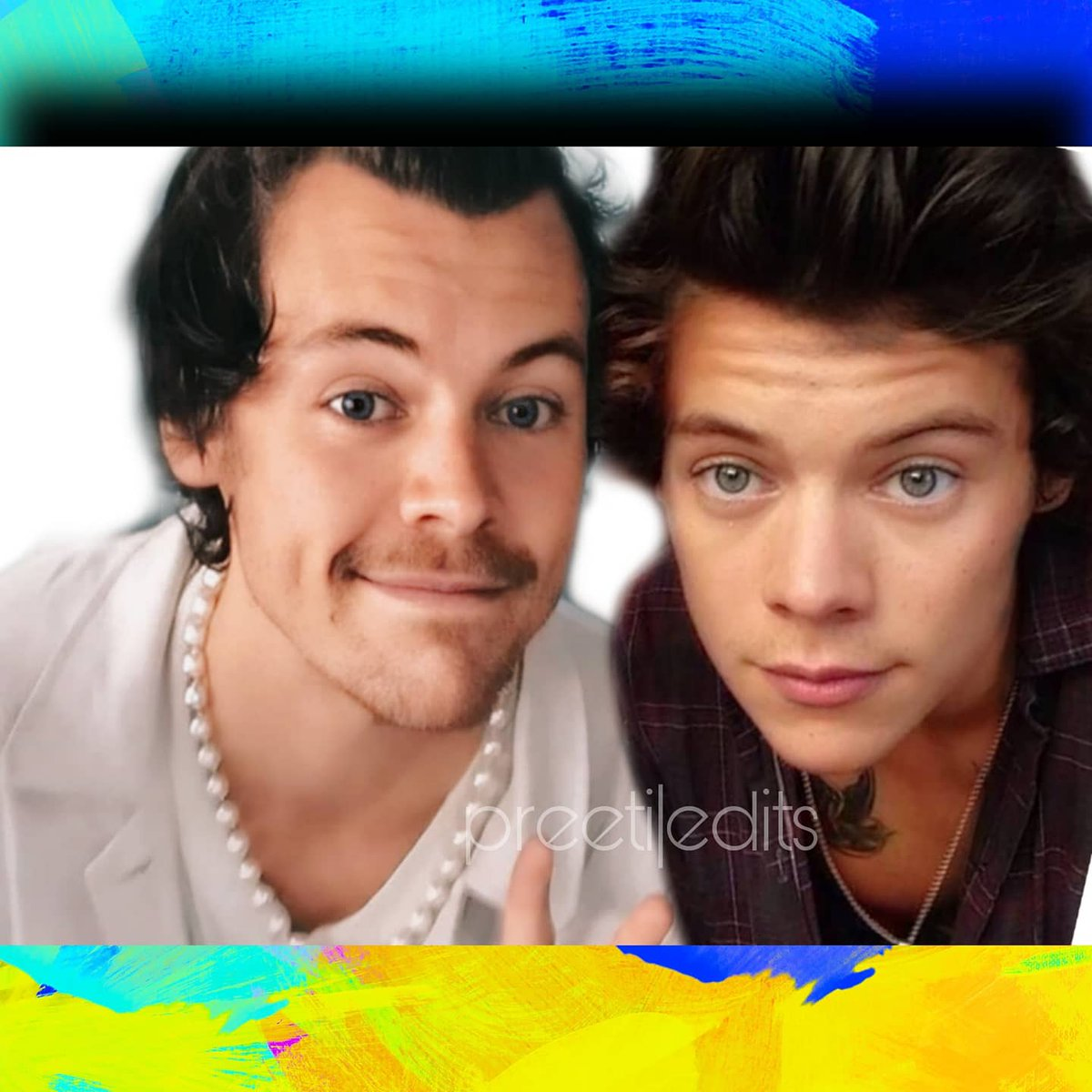 I am not a very good editor 😬😛 HARRY WITH HARRY ❤️  #Harrystyles  #harrystylesvogue  #DontWorryDarling  #HARRY  #BestofCapitalJBB  #BBMM