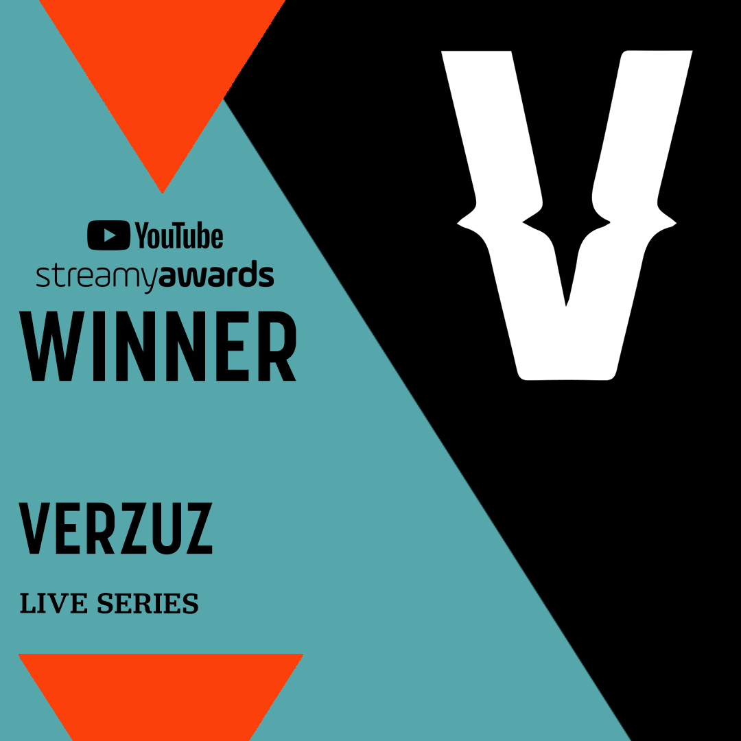 Give a round of applause to your Live Series winner, @verzuzonline! 👏 #streamys