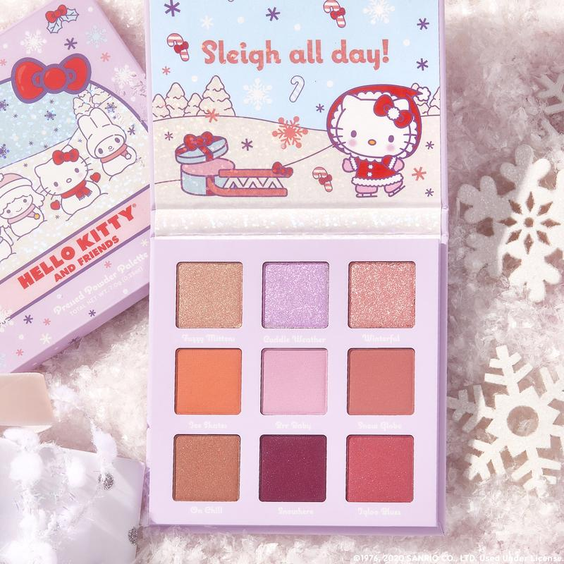 Picking this back up with the @ColourPopCo Snow Much Fun Palette & Miss Meteor by @tehlorkay & @LaAnnaMarie #hellokittyxcolourpop #MissMeteor #5starread #Meteor #Chicky #Lita #Meteorite