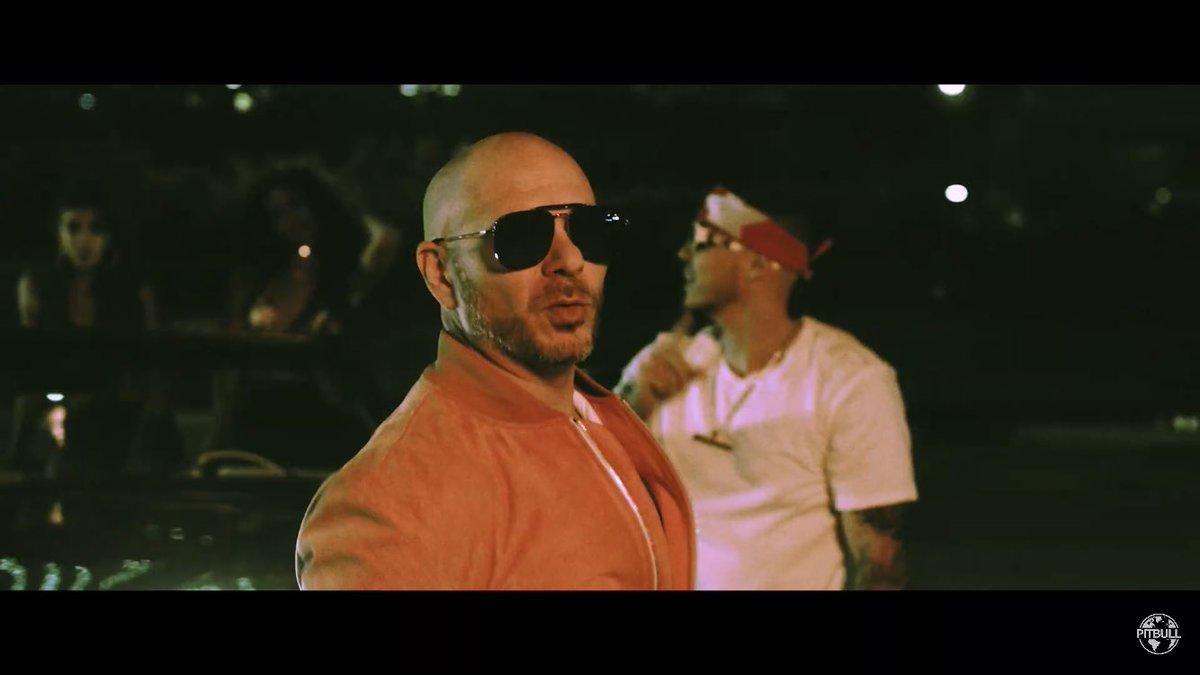 """📷 Screenshots from the """"𝙂𝙞𝙫𝙚 𝙄𝙩 𝙏𝙤 𝙈𝙚"""" official music video by @IAmChino__ x @Pitbull x @Yomil_Champions #Crunkaton #MrWorldwide #Pitbull🔥  Watch it here:"""