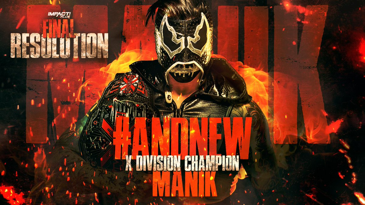 """New X-Division Champion Crowned On Impact's """"Final Resolution"""" Event"""