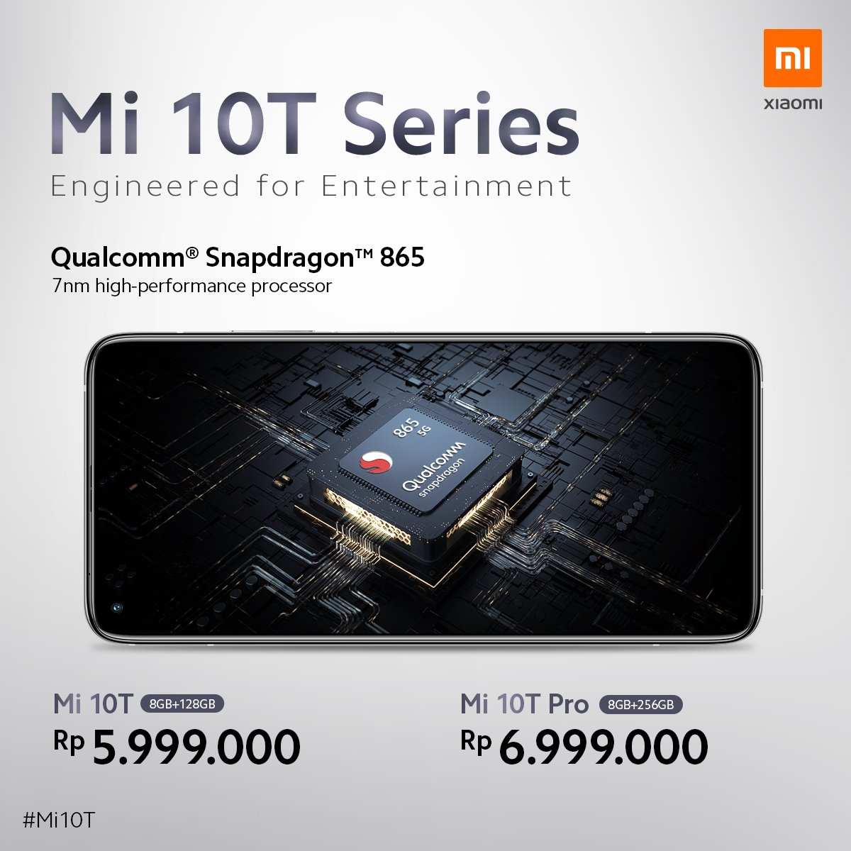 Harga Xiaomi Mi 10T Series