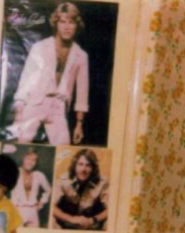 Pictorial evidence that I kinda liked Andy Gibb when I was young. The back of my bedroom door cir 1978 LOL 😂🤣 @BeeGees @GibbBarry  🎶❤️ #BeeGeesDoc #BeeGeesHBO #BeeGeesFilm #BarryGibb #BeeGees #AndyGibb #ICONS
