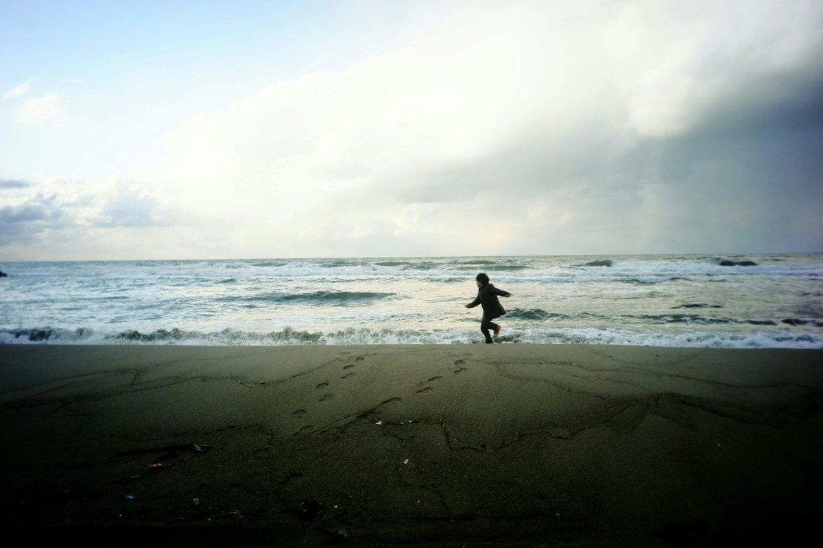 海までドライブ。寒いけどね。 #湯の浜海岸 #utulens