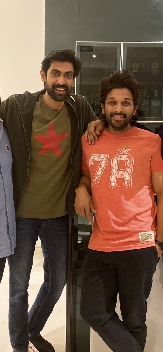 Happy Birthday Fireeeeeee 🔥 Btw ... couldn't find a pic of us in recent times . I can't post the old ones 😂😉  @RanaDaggubati #HBDranadaggubati #bestie https://t.co/R6i8KvUPjU