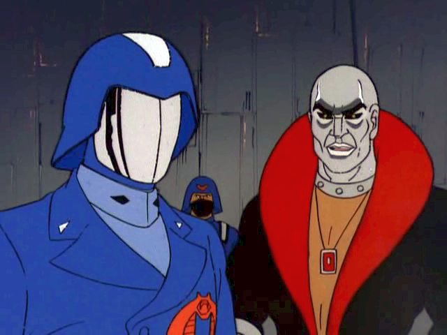 Classic G I Joe On Twitter Cobra Commander And Destro From 1983 The M A S S Device Slave Of The Cobra Master
