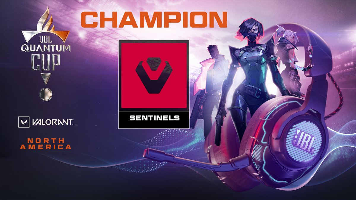 🏆 CONGRATULATIONS @Sentinels 🏆  Your #JBLQuantumCup CHAMPIONS 🎉  Rest well and we look forward to seeing you in your winning ways come 2021!