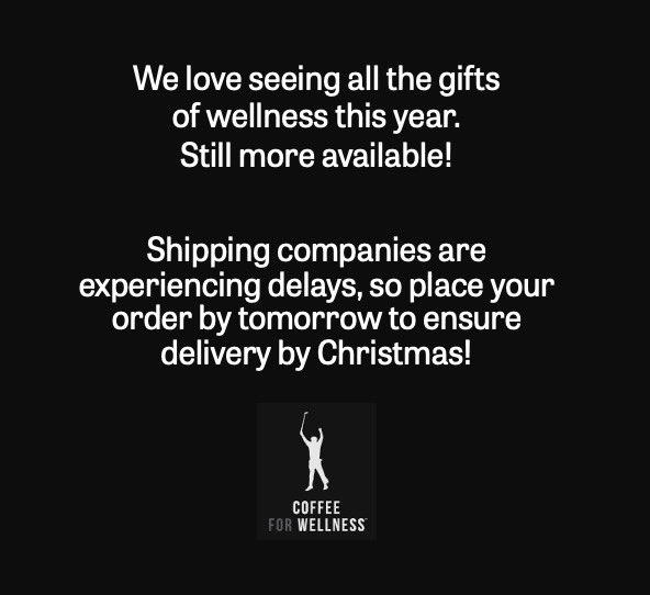 We love seeing wellness shared! Get your holiday orders in!!