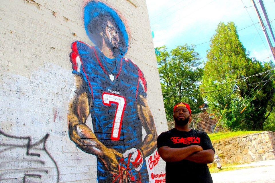 Geezus Matt Ryan is trash! Atlanta fans deserve better. @AtlantaFalcons your call to Colin Kaepernick is WAY past due. #ImWithKap #BringBackKap #TrueTo7 #StillReady #StopRunning