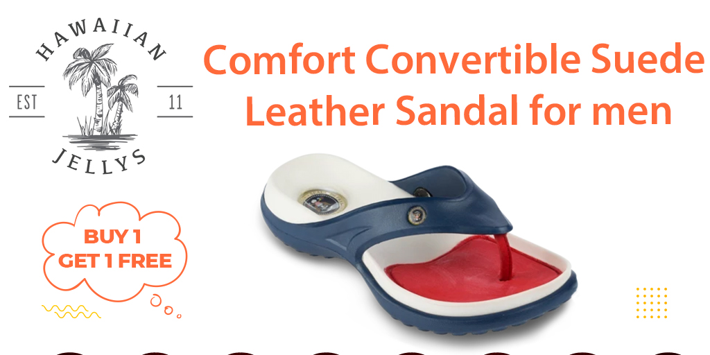 Comfort convertible suede leather sandals for men #flipflops #sandals #feet #leathersandals #Slipaaahs #slippers #flipflopseason #fashion #summer #hawaiianjelly #shoes #dressshoes #onlineshopping #foot #heels #kidsfeet #chinelo #convertiblesandals #patrioticsandals #footwear #usa