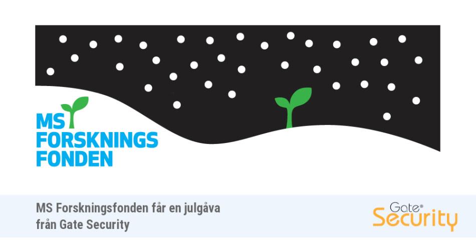 MS-Forskningsfonden erhåller en julgåva från Gate Security https://t.co/uXdwDwYnDa https://t.co/ZymH0J7RC7