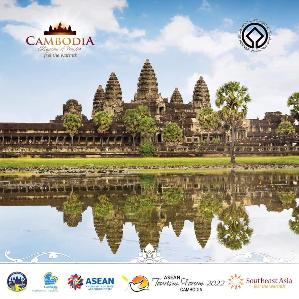 🎊 Happy 28th anniversary of #AngkorWat temple listed into #WorldHeritage site by @UNESCO on 14 December 1992 - 14 December 2020 🎊🇰🇭.  #asean #travel #tourism https://t.co/9l4q17mlAk