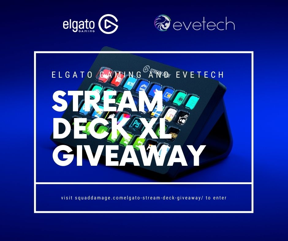 You asked for an Elgato giveaway! Here I am teaming up with @Evetech and @elgato to give away one of my favourite Elgato products, a Stream Deck XL. If you've bought any Elgato Wave product, your chances of winning go up EXPONENTIALLY. Enter here: https://t.co/pmaxmvKelc https://t.co/WHQVGwgWzn