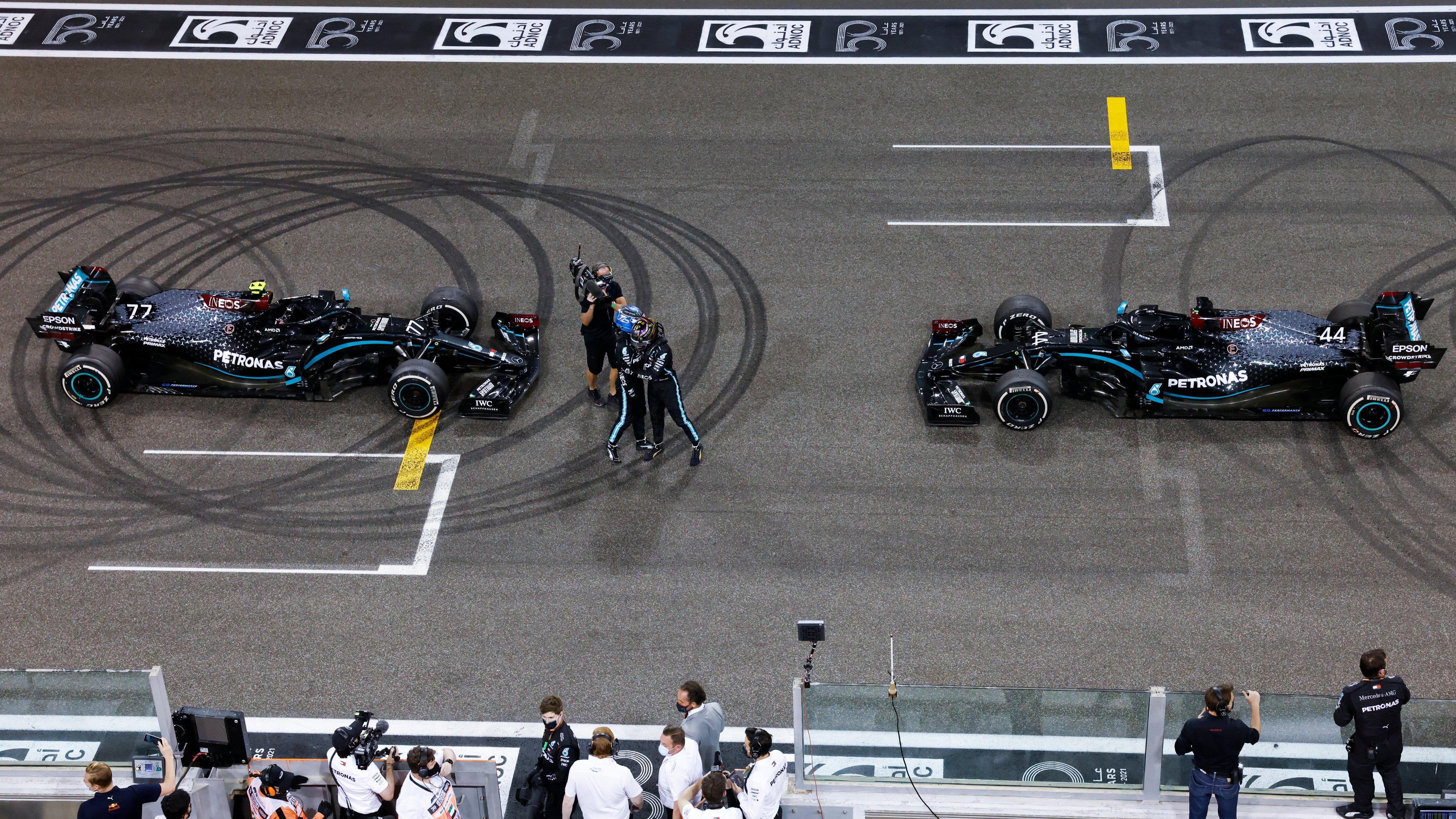 GP Abu Dhabi Mercedes