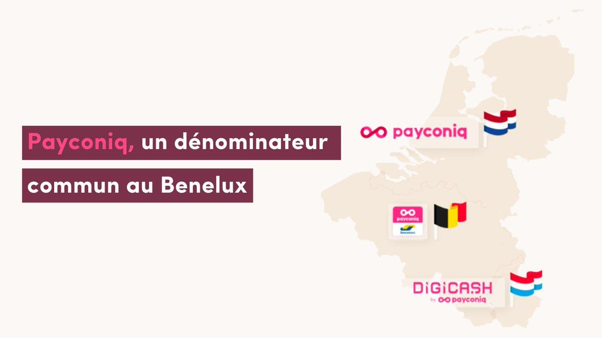 Payconiq, c'est une plateforme, 3 #pays et de nouveaux produits et fonctionnalités pours les commerçants de #Luxembourg !   ➡️ Digicash by Payconiq au Luxembourg ➡️ Payconiq by Bancontact en Belgique ➡️ Payconiq aux Pays-Bas   #payconiq #benelux https://t.co/sAt7VIGBVa