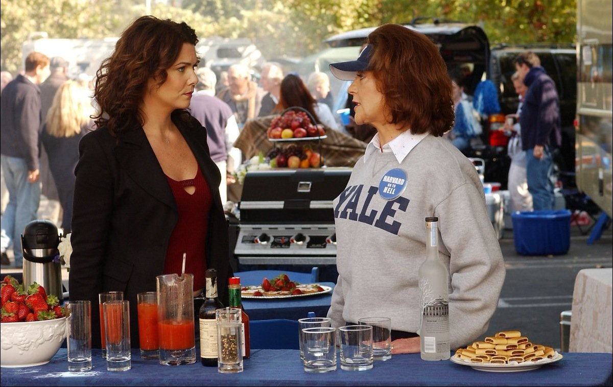 #laurengraham #seangunn #gilmorethemerrier  5- Ted Koppel's big night out s4 ep9 The start of the shows best handled break ups
