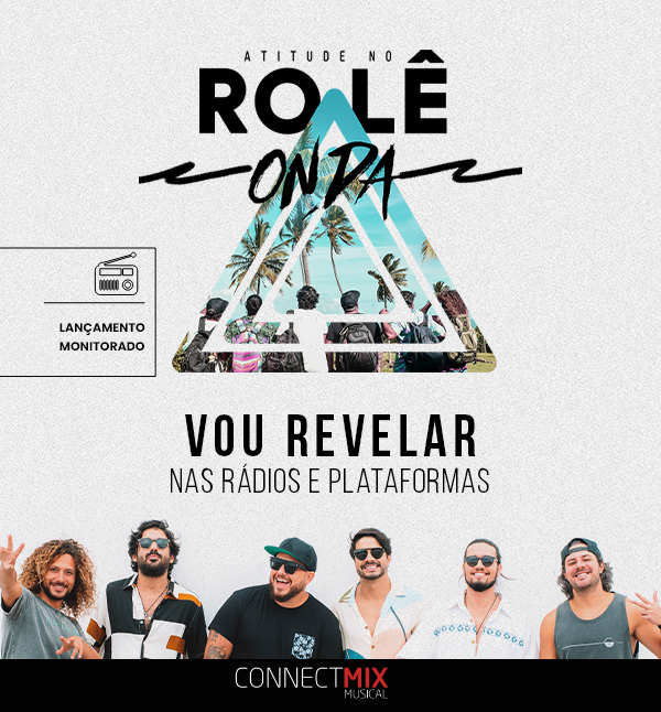 """O grupo dono do sucesso """"Cerveja de Garrafa"""" lança hoje nas rádios sua nova música """"Vou Revelar"""", que parte do projeto """"Rolê e Onda"""". 🎼  Não perca tempo e corre para ouvir """"Vou Revelar"""" 📻  #connectmix #atitude67 #vourevelar #roleeonda #samba #axe"""