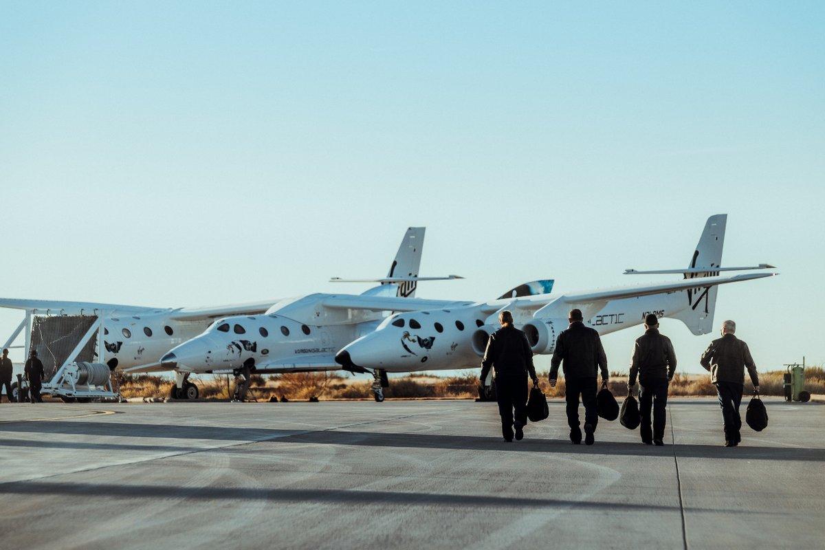An update on our test flight program;