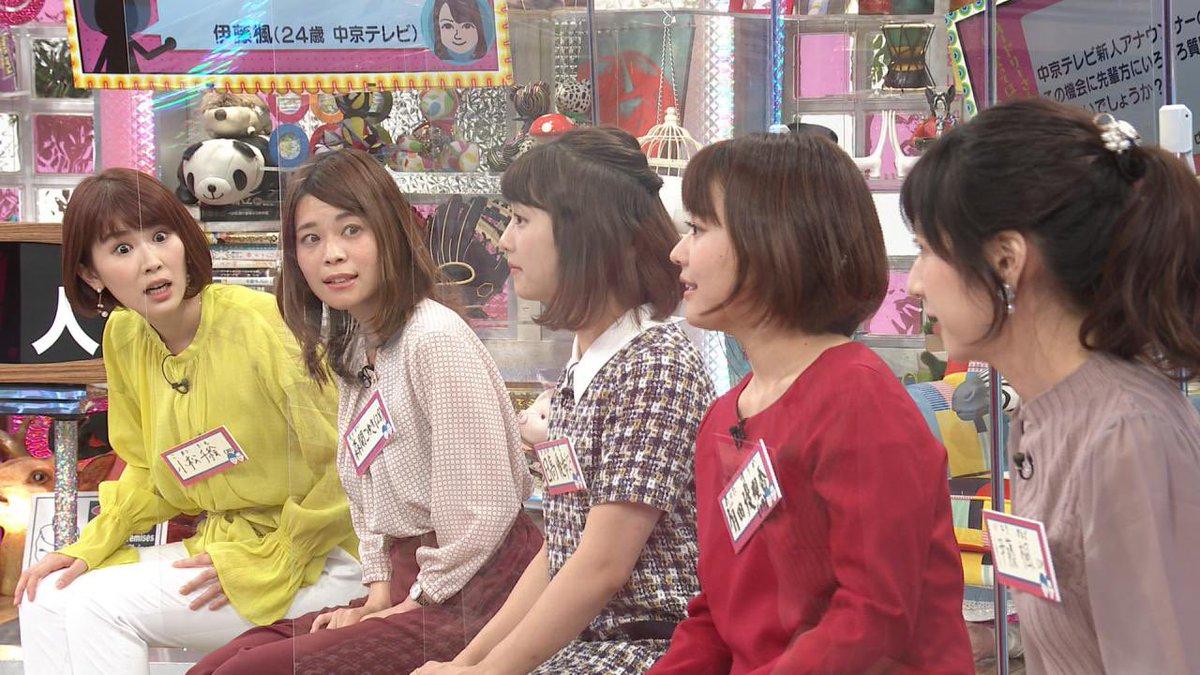 中京 テレビ 女子 アナ