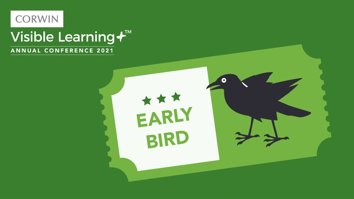 Early bird gets the...best pricing for #AVL2021! Register now to take advantage. ow.ly/5Ln150CKVCk #AVL2021
