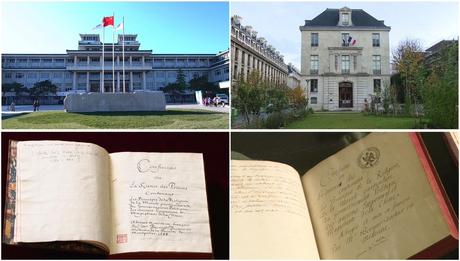 """The National Library of China added a new treasure last year -- a copy of the original French version of """"An Introduction to The Analects of Confucius"""".  Read #XinhuaHeadlines to see how an ancient book reinvigorates modern China-France cultural exchanges"""