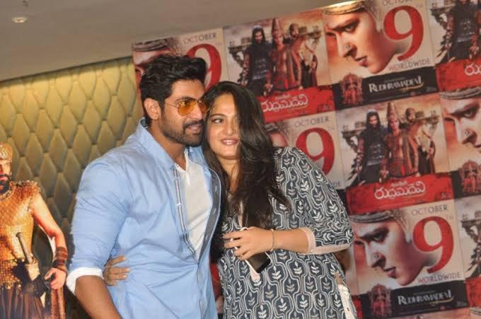 Bollywood actress Anuska Setty latest image update