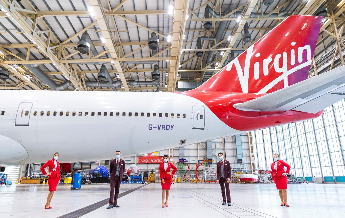 At the weekend, we welcomed guests to our @HeathrowAirport hangar to say goodbye to the iconic @Boeing 747 aircraft. A great day was had by all and we gave the Queen of the Skies the farewell she deserves ❤️