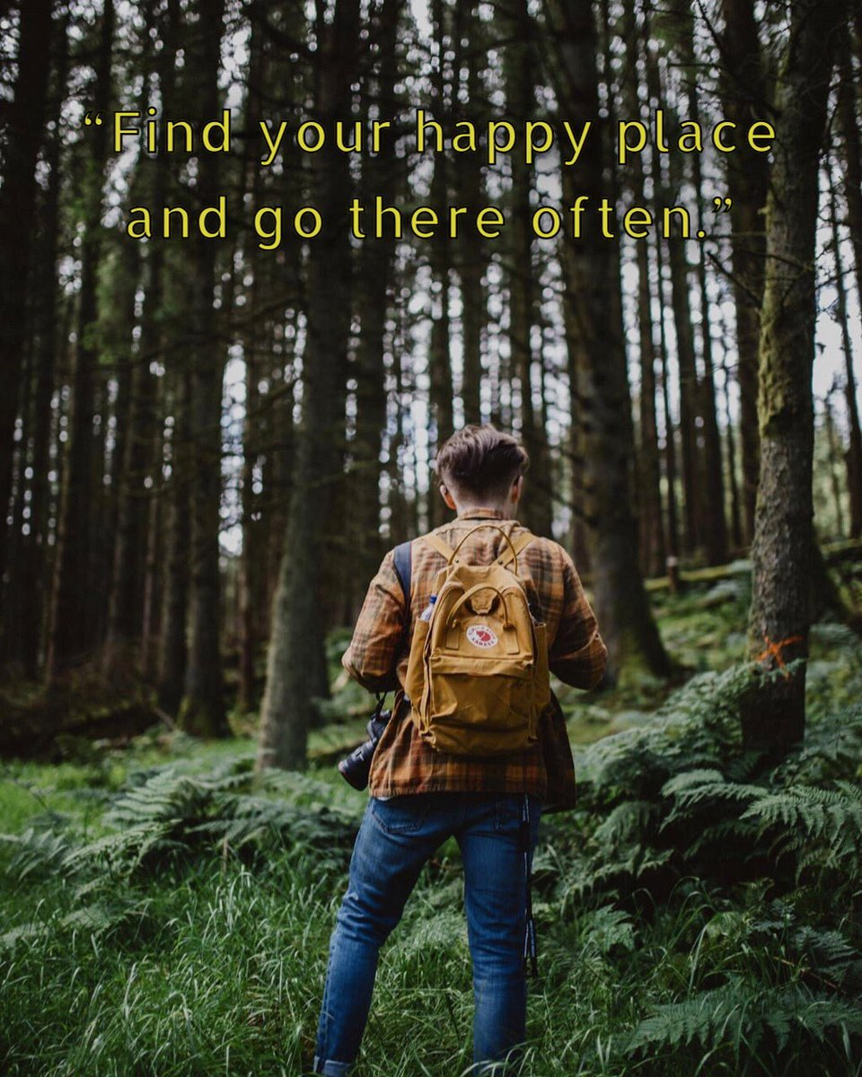 """✨ MONDAY MANTRA ✨ """"Find your happy place and go there often."""" 📸 by Jodie Buchanan"""