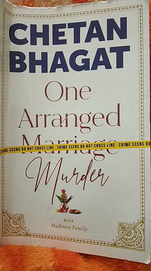 @chetan_bhagat who is murderer sir...? At chapter 35in one go..  #onearrangedmurder