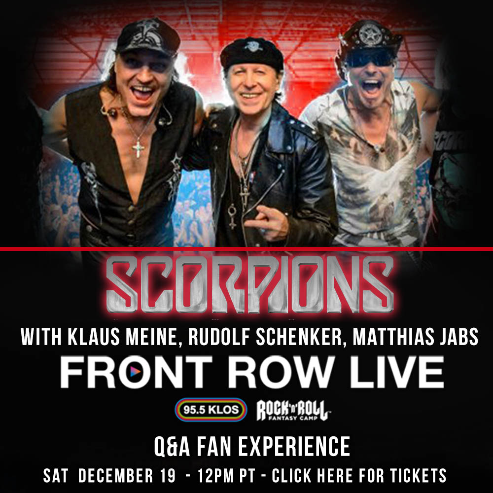 Klaus, Rudolf & Matthias are hosting their very own @RockFantasyCamp Masterclass this Saturday, Dec. 19.  To help support our road crew, we are donating ALL of the funds received from the class to them until we can get back on the road. Visit https://t.co/SCFnwbdMIa for tickets. https://t.co/njq9ZvmBMr