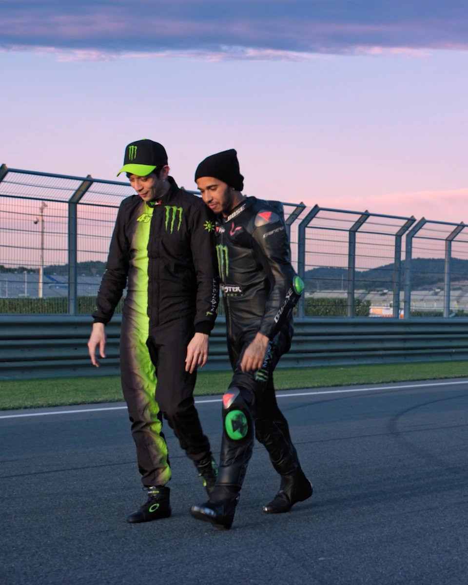 🐐+🐐=🌋 WATCH NOW 📼🍿  We got up real close w/ @LewisHamilton & @ValeYellow46 last year for #LH44VR46: https://t.co/t391L3y9h4 https://t.co/pu5eSR0OIV