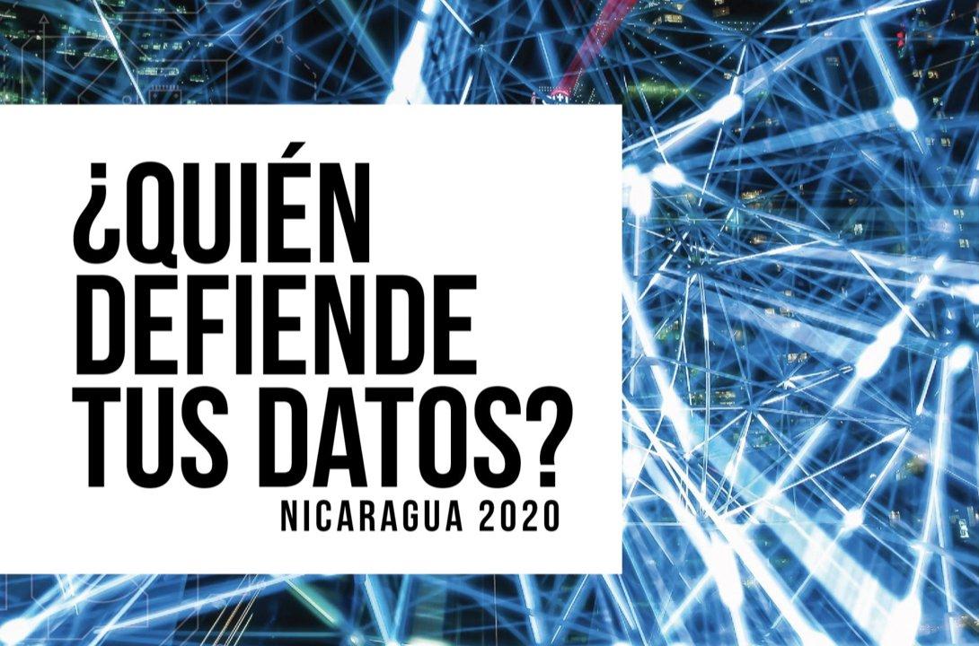🚀El viernes pasado fue el lanzamiento de ¿Quién defiende tus datos? Nicaragua 2020. Por primera vez se realizó este estudio en este país con el apoyo de @EFF.  👉Si te lo perdiste o quieres descargar el informe completo entra a