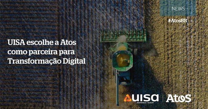 A Atos foi escolhida pela @uisa, uma das maiores produtoras de etanol e açúcar...