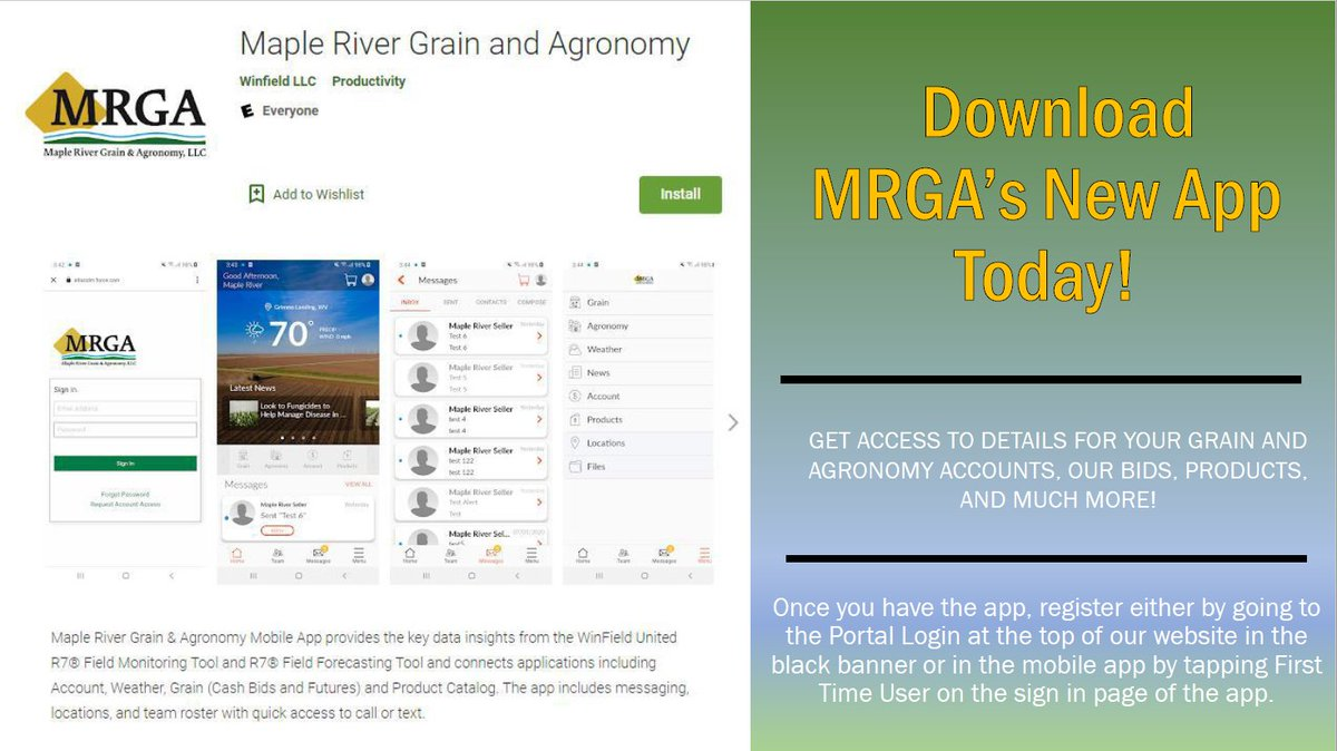 Maple River Grain & Agronomy Twitter