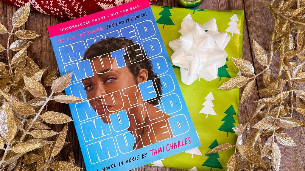 ✨GIVEAWAY ALERT! 🎁✨ In the spirit of giving, we're giving away advanced copies of MUTED by Tami Charles (@TamiWritesStuff)! Enter for a chance to win this powerful novel in verse before it comes out on 2/2/21 ➡️ bit.ly/3qVrfxg US Only. 13+. No purchase necessary.