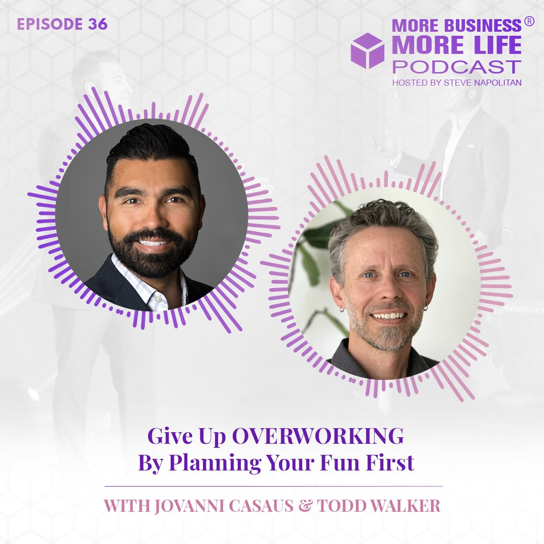 Has OVERWORKING become a bad habit? One that's sucking all the freedom out of life and keeping you burnt out?  Join us to learn how planning your FUN first is your one-way ticket out of long, unproductive hours ---?