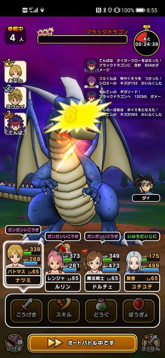 ブラック ドラゴン 討伐