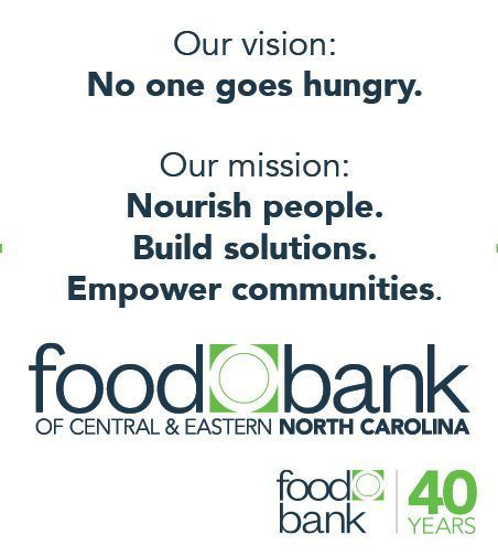 In 2019 the Food Bank launched an updated brand, including new mission & logo, to represent the evolving approach to the work of ending hunger.   2020 marks the Food Bank's 40th anniversary.  See more moments of Food Bank history at