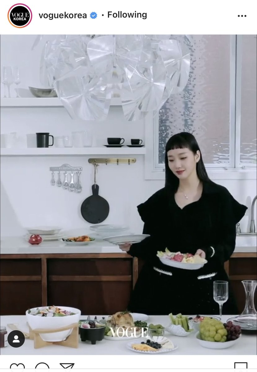 Let's join gon's party ..ลูกสาวจัดงานปาร์ตี้แล้วเหรอคะ เปิดเพลง Loveholic ด้วยไหมคะ 🥂🥂🍾🍷  #KimGoEun #CHANELFineJewelry #voguekorea