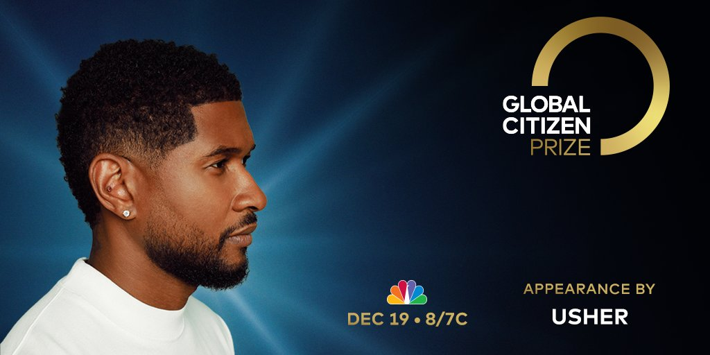 This Saturday, I'm joining @GlblCtzn for the premiere of #GCPrize! Tune in to @nbc on Dec 19 to celebrate the leaders, artists, and activists building a better future for us all. Plus, don't miss a special appearance by me! Here's how to watch: