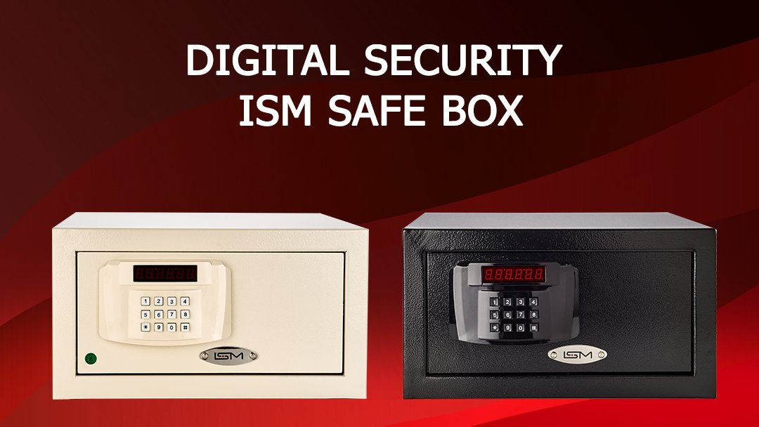 ISM SAFEBOX  Secure your valuables with ISM Safebox.  Ivory / Black Color Options  #safebox #security #hotelsafety #hotelequipments https://t.co/lgC1YjLCOy