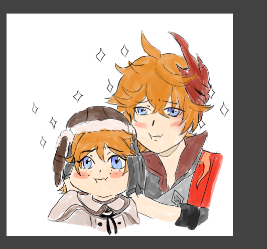 Minne On Twitter Please Give Me Strength To Finish This Comic Qq Genshinimpact Childe Chilumi