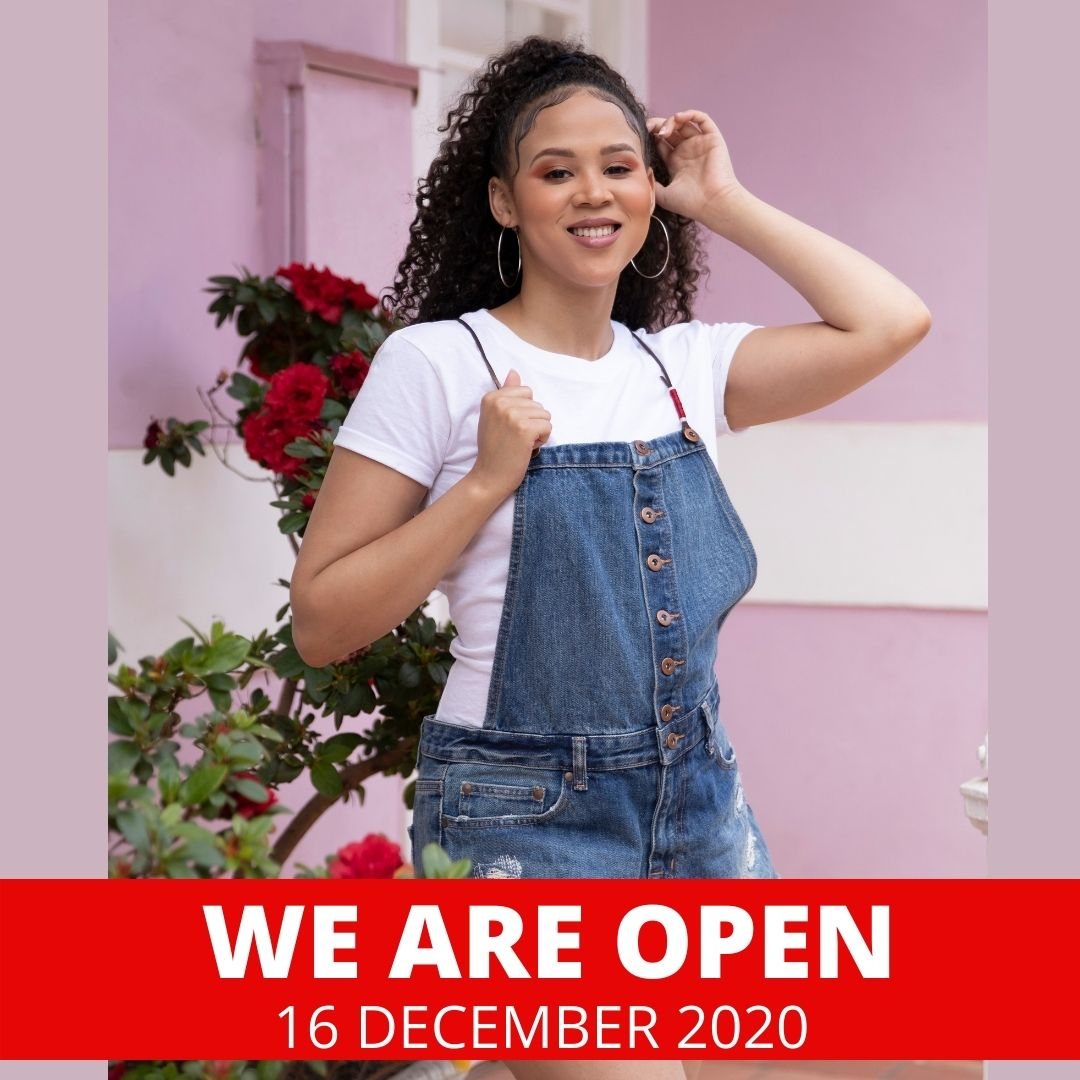 We are open tomorrow - 16 December 2020  Find all store locations and trading hours on our website: