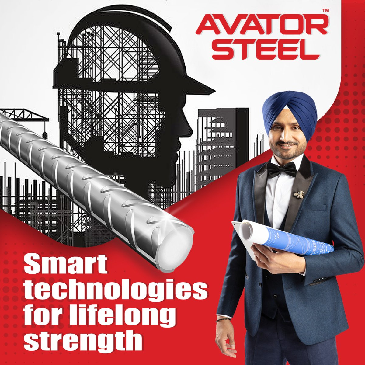 Made with the latest technology, #AvatorSteel gives your home the ultimate protection against earthquakes, rust, etc.  #HarbhajanSingh #RustProof #EarthquakeProof  @harbhajan_singh